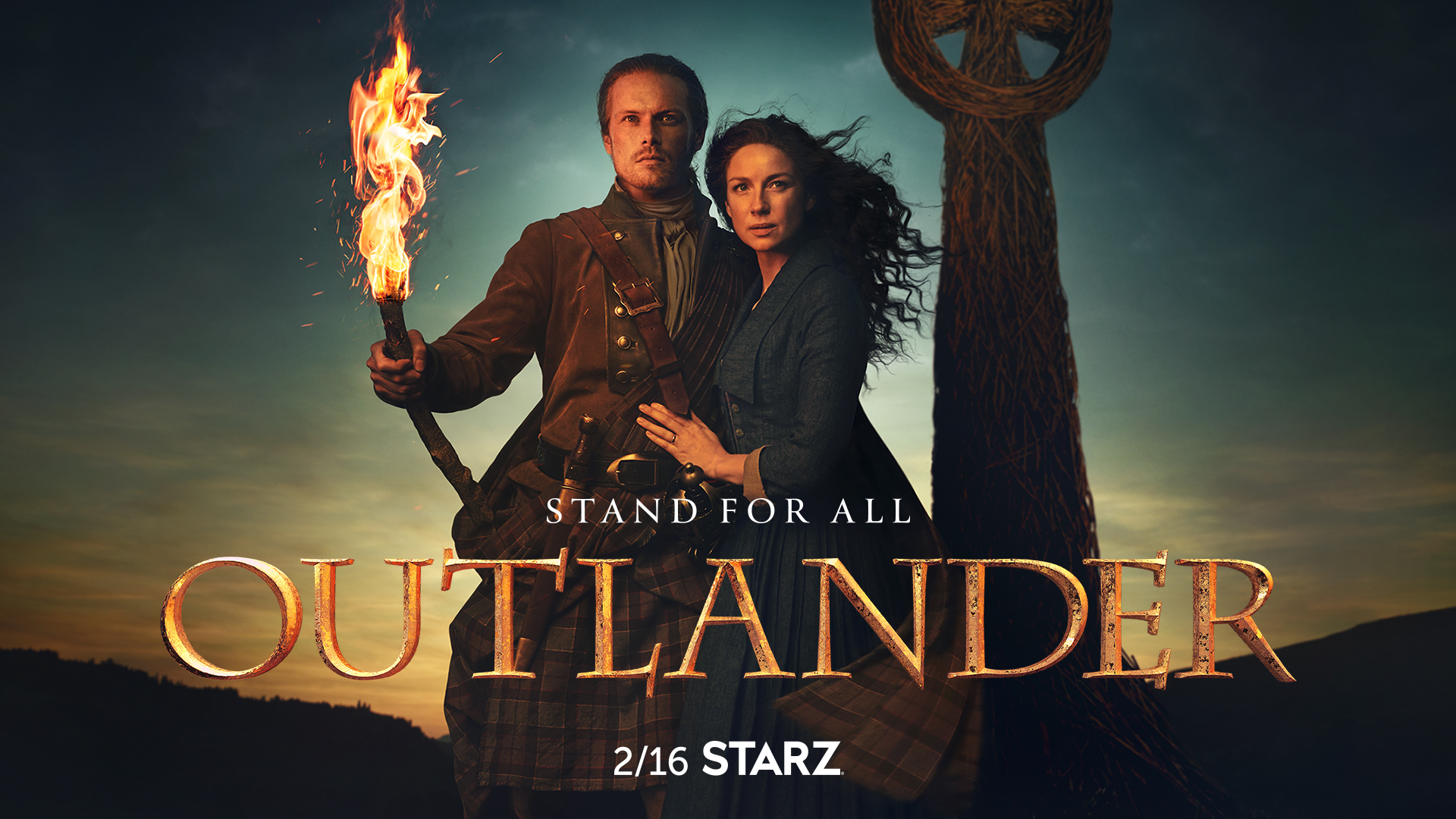 Outlander TV show on Starz: season 5 ratings