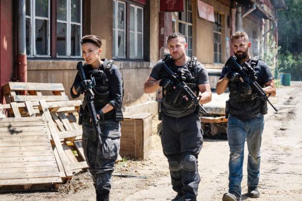 Strike Back TV show on Cinemax: canceled? renewed for season 9?