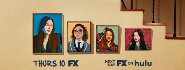 Better Things TV show on FX: season 4 ratings