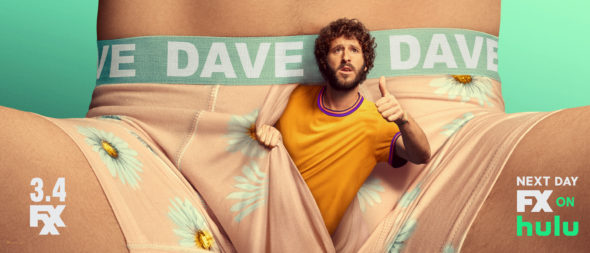 Dave TV show on FXX: season 1 ratings