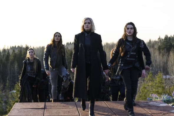 The 100 TV Show on The CW: canceled or renewed?