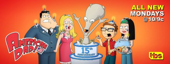 American Dad! TV show on TBS: season 15 ratings