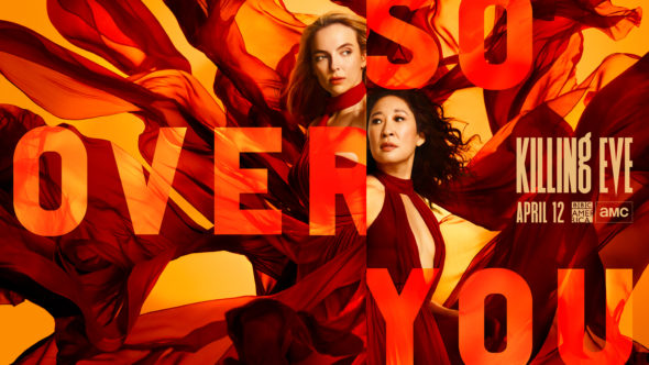 Killing Eve TV show on BBC America and AMC: season 3 ratings
