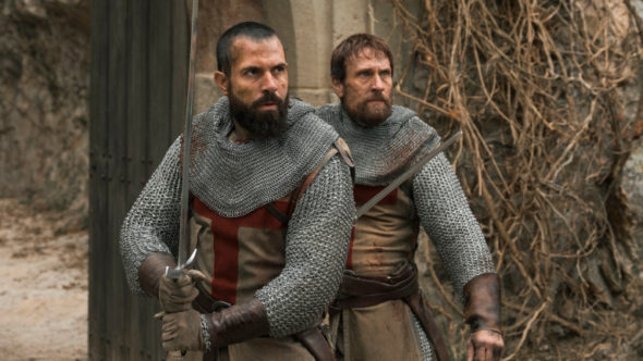 Knightfall TV show on History: (canceled or renewed?)