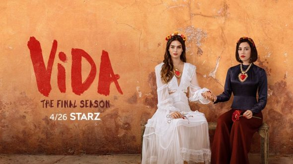Vida TV show on Starz: season 3 ratings
