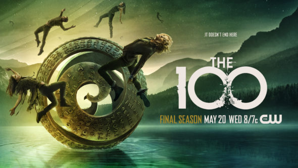 The 100 TV show on The CW: season 7 ratings