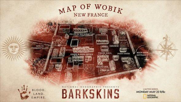 Barkskins TV show on National Geographic: season 1 ratings
