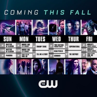 The CW TV shows for Fall 2020