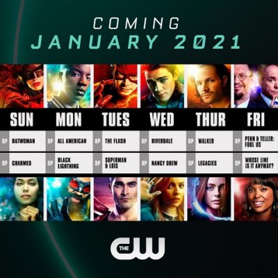 The CW TV shows - January 2021
