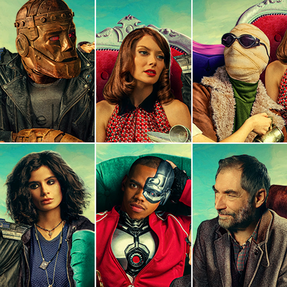Doom Patrol Season Two Debut Date Set For Hbo Max And Dc Universe