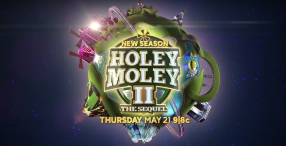 Holey Moley TV show on ABC: season two ratings (Holey Moley II: The Sequel)