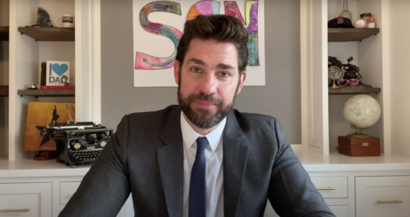 John Krasinski reportedly sold 'Some Good News' following a 'massive bidding war'