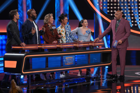 Celebrity Family Feud TV show on ABC: canceled or renewed for season 7?