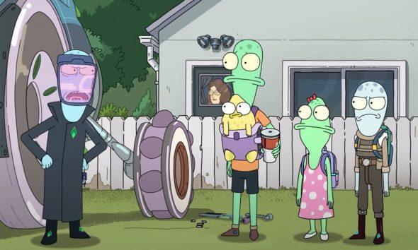 Solar Opposites TV show on Hulu: season 2 and season 3 renewal