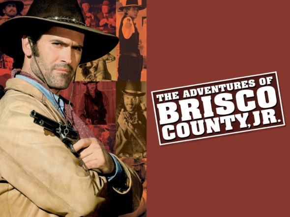 The Adventures of Brisco County, Jr. TV Show on FOX: canceled or renewed?