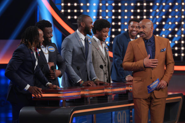 Celebrity Family Feud TV Show on ABC: canceled or renewed?