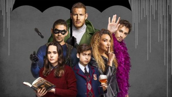 The Umbrella Academy TV show on Netflix: (canceled or renewed?)