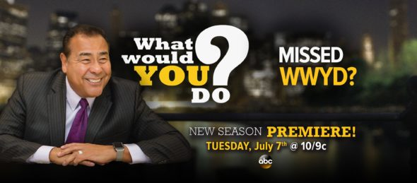 What Would You Do? TV show on ABC: season 16 ratings