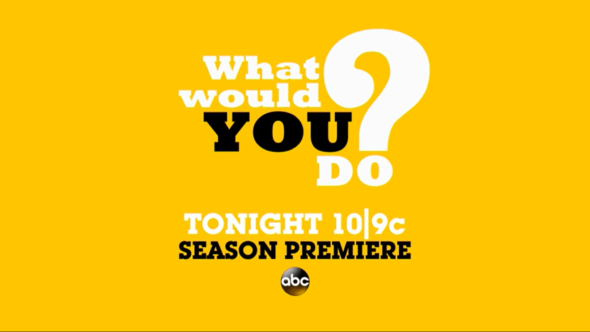 What Would You Do? TV show on ABC: canceled or renewed for season 17?