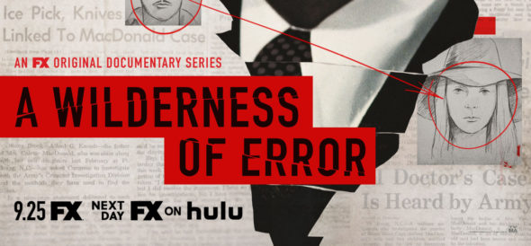 A Wilderness of Error TV show on FX: canceled or renewed?