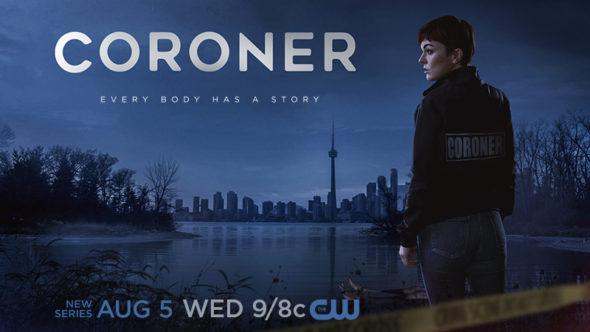 Coroner TV show on The CW: season 1 ratings