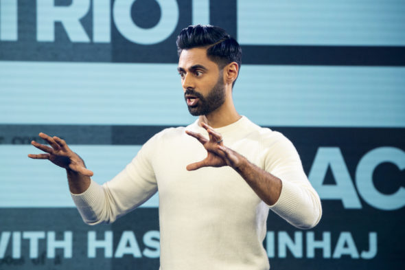 Patriot Act With Hasan Minhaj TV show on Netflix: canceled, no season 7 on Netflix