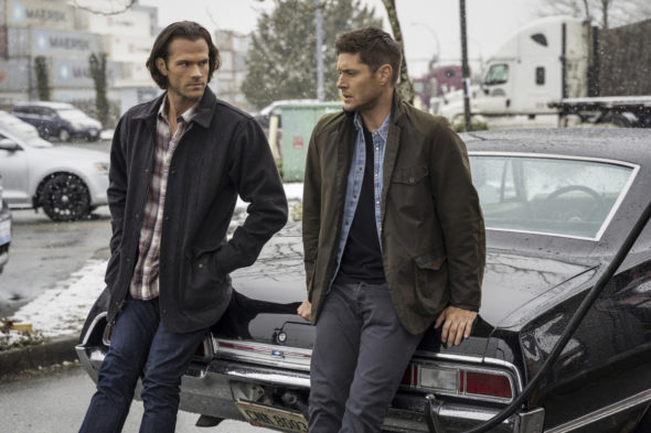 Supernatural TV show on The CW: final episodes premiere