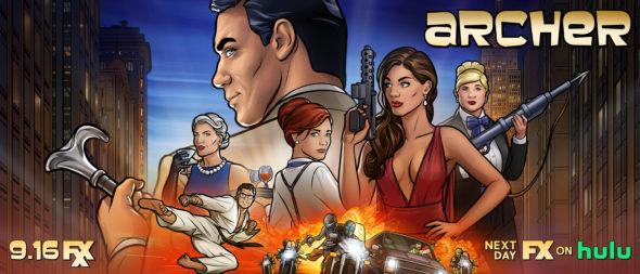 Archer TV show on FXX: season 11 ratings