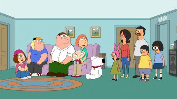 Bob's Burgers (seasons 12 and 13) and Family Guy (seasons 19 and 20) renewed at FOX