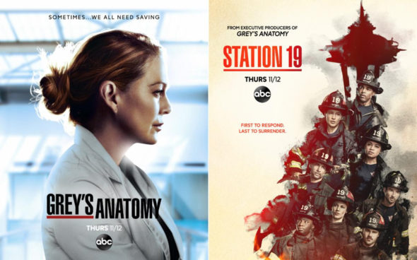 Grey's Anatomy and Station 19 TV Shows on ABC: canceled or renewed?