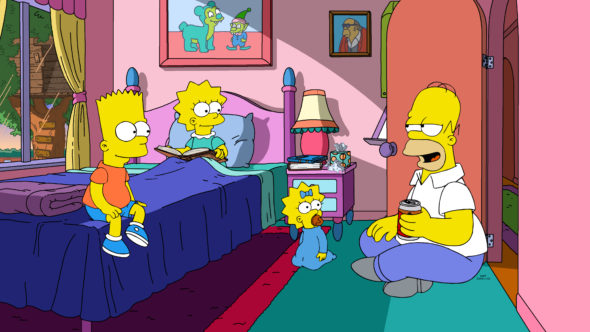 The Simpsons TV show on FOX: canceled or renewed for season 33?