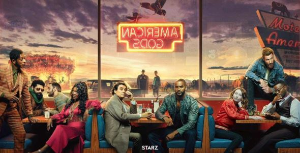American Gods TV show on Starz: (canceled or renewed?)