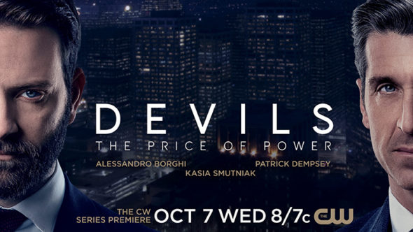 Devils TV show on The CW: season 1 ratings