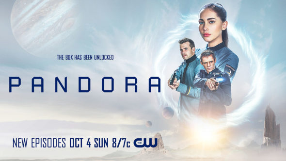 Pandora TV show on The CW: season 2 ratings