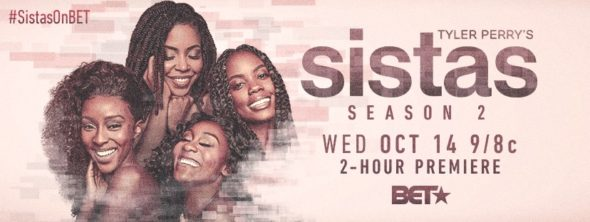 Tyler Perry's Sistas TV show on BET: season 2 ratings