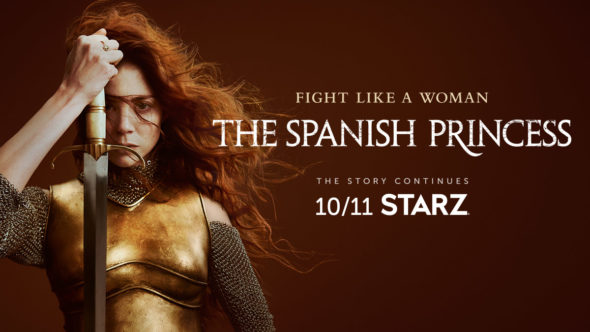 The Spanish Princess TV show on Starz: season 2 ratings