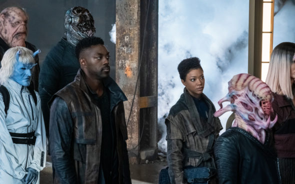 Star Trek: Discovery TV show on CBS All Access: canceled or renewed for season 4?