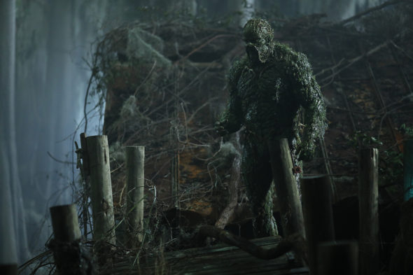 Swamp Thing TV show on The CW: season 1 ratings