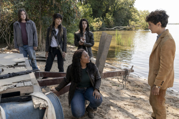 The Walking Dead: World Beyond TV show on AMC: canceled or renewed?