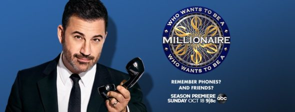 Who Wants To Be A Millionaire TV show on ABC: season 2 ratings