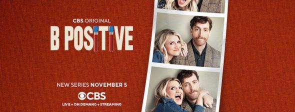 B Positive TV show on CBS: season 1 ratings