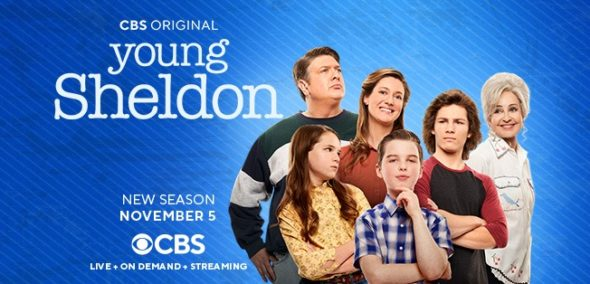 Young Sheldon TV show on CBS: season 4 ratings