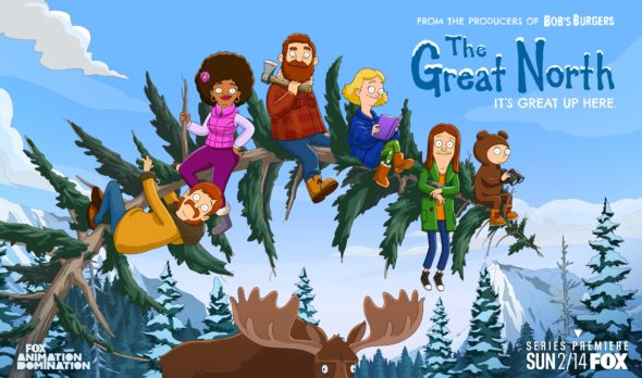 The Great North TV show on FOX: premiere date