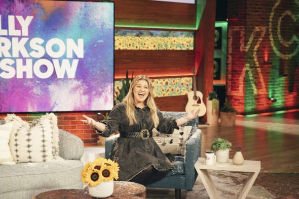 The Kelly Clarkson Show syndicated TV series: renewed for seasons three and four