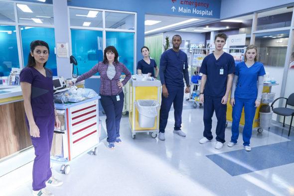Nurses TV show on NBC: canceled or renewed?