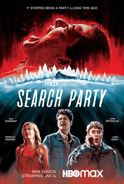 Search Party TV show on HBO Max: (canceled or renewed?)