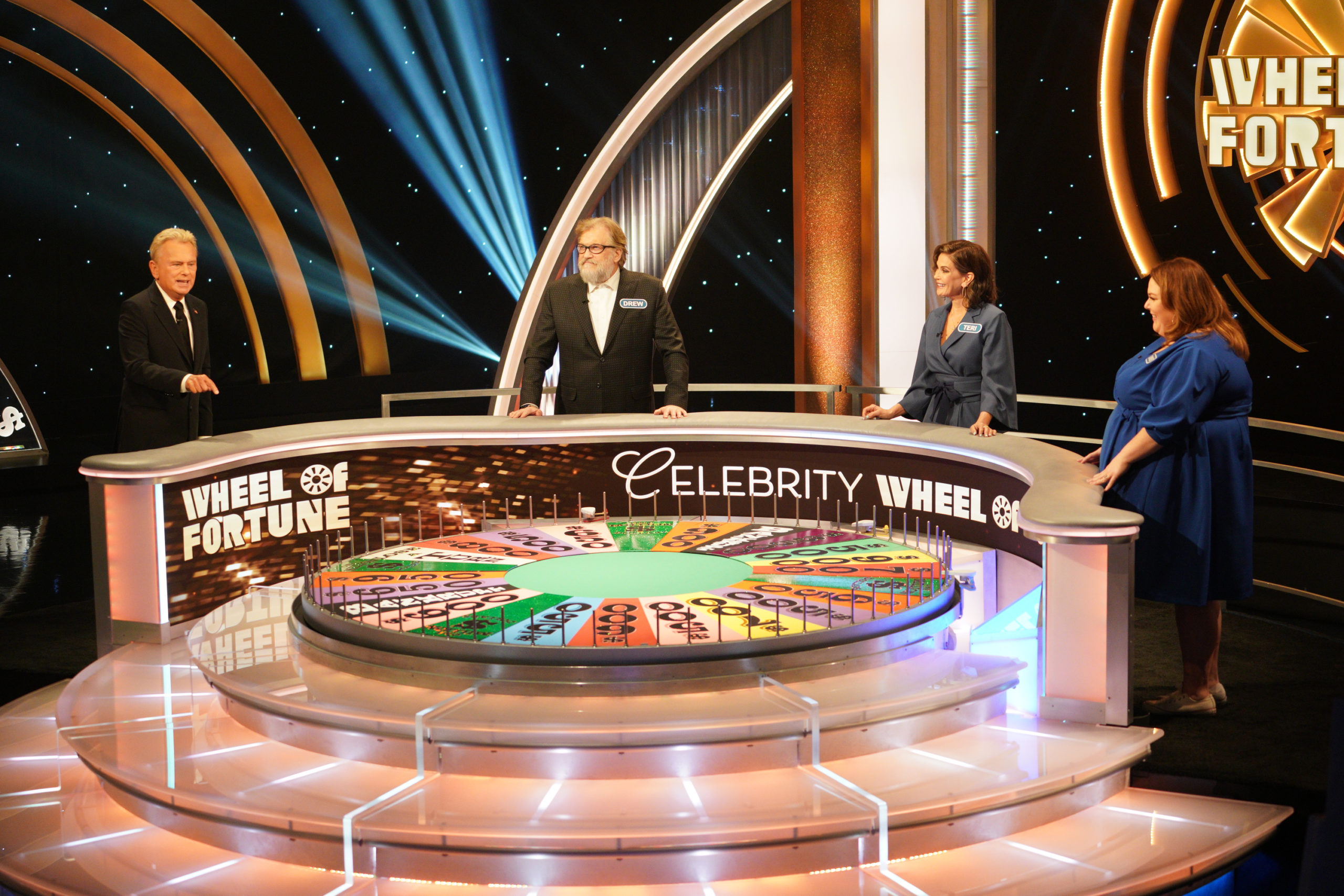 Celebrity Wheel Of Fortune Tv Show On Abc Season One Viewer Votes Canceled Renewed Tv Shows Tv Series Finale