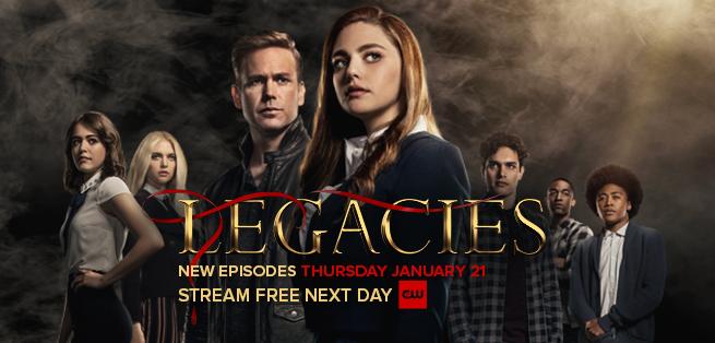 Legacies TV show on The CW: season 3 ratings