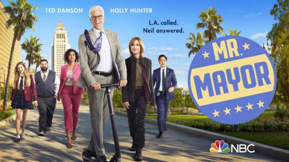 Mr. Mayor TV show on NBC: season 1 ratings