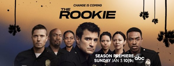 The Rookie TV show on ABC: season 3 ratings